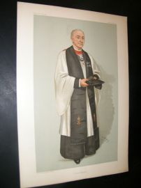 Vanity Fair Print 1904 Rev Edgar Sheppard, Clergy